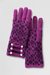 Women's Double Knit Nordic Gloves