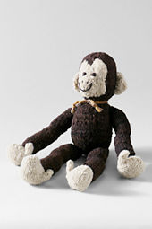 Knit Jane Goodall Chimp Plush