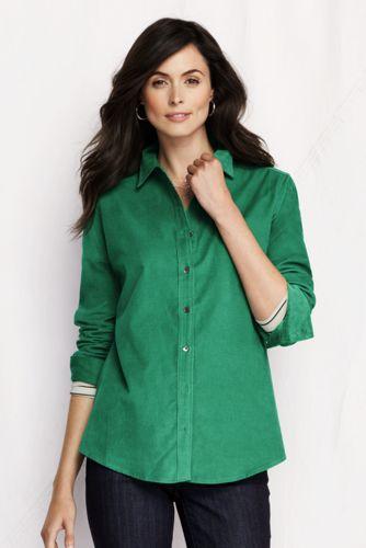Women's Regular Cord Shirt