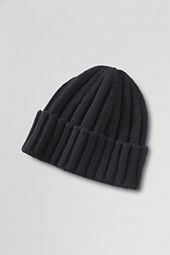Men's Wool Rib Knit Hat