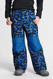 Boys' Squall Print Snow Pants