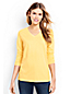Women's Plus Supima® Long Sleeved V-neck Tee
