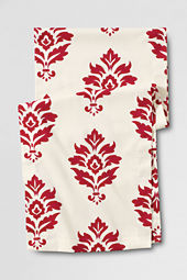 "90"" Damask Holiday Table Runner"