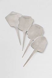 Pewter Garden Stakes (Set of 4)