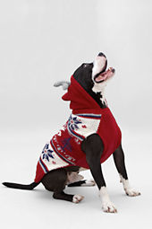 Reindeer Hooded Pet Sweater