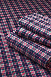 Boys' Plaid Flannel Sheet Set