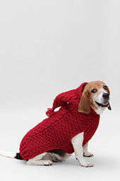 Solid Hooded Pet Sweater