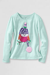 Girls' Long Sleeve Owl Friends Graphic T-shirt