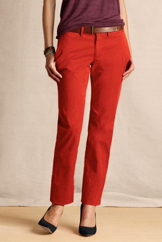 Women's True Slim Chinos  - Velvet Orange, 14