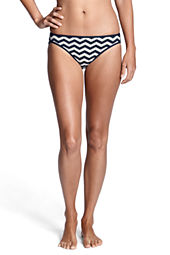 Women's Seaside Resort Stripe Reversible Bikini Bottom