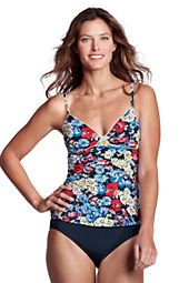 Women's Seaside Resort Daisy Tankini Top