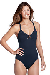 Women's Seaside Resort Y-back One Piece Swimsuit