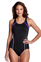 Women's AquaFitness Butterfly Scoop One Piece Swimsuit