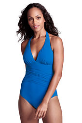 Women's Shape & Enhance Halter One Piece Swimsuit