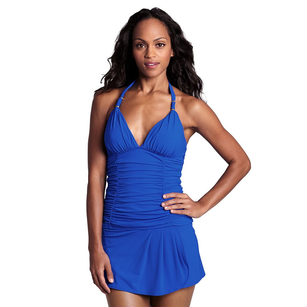 Lands' End Women's Regular Shape & Enhance Halter Tankini Top at Sears.com