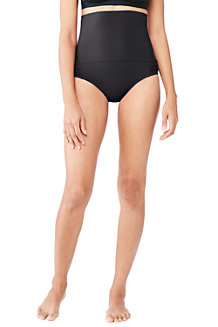 Women's Shape and Enhance Ultra High Rise Bikini Bottoms
