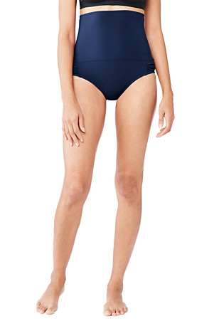 67d6e2883c Women's Shape and Enhance Ultra High Rise Bikini Bottoms | Lands' End