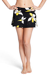 Women's SwimMates Orchid Floral Flounce Cover-up Swim Skirt