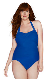 Women's Halter One Piece Slender Suit