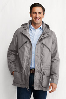 Men's Casual Cotton Parka