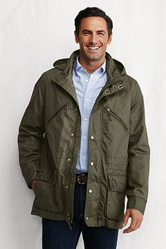 Washed Cotton Yacht Parka 426716