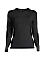 T-shirt de Bain à Manches Longues Uni, Femme Stature Standard