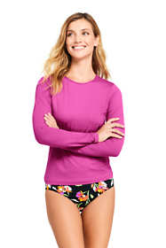 Women's Long Long Sleeve Swim Tee Rash Guard