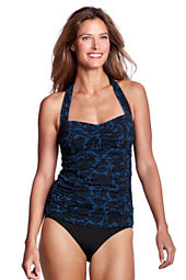 Women's Beach Living Bardot Floral Princess Tankini Top