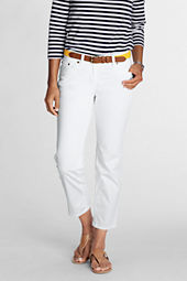 Women's Sateen Skinny Crop Pants