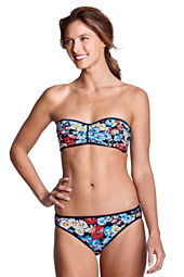 Women's Seaside Resort Daisy Reversible Bandeau Bikini Top