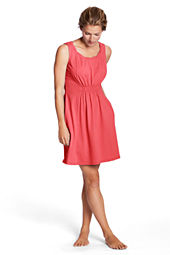Women's Sleeveless Scoopneck Cover-Up Dress