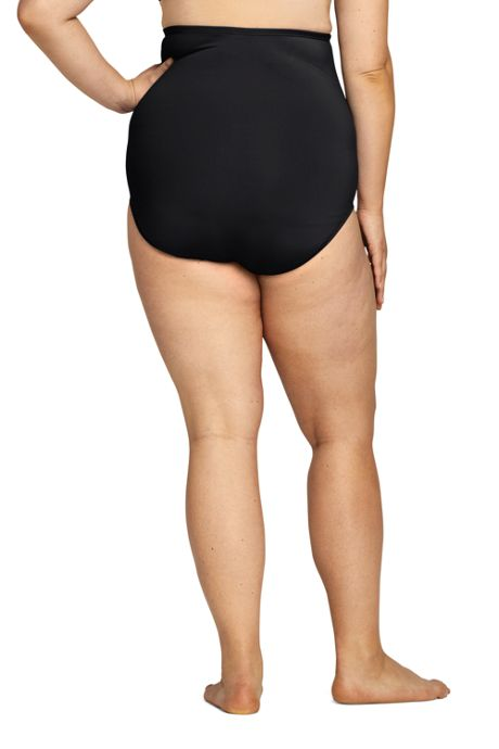 Women's Plus Size Ultra High Waisted Bottoms with Tummy Control