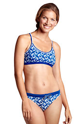 Women's AquaTerra Batik Twist Back Bikini Top