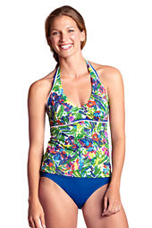 Women's AquaTerra Tropical Underwire Tankini Top