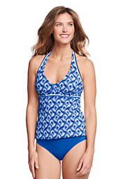 Women's AquaTerra Batik Underwire Tankini Top