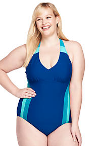 a9e333d0337 Women s Plus Size V-neck One Piece Swimsuit