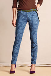 Women's Super Skinny Patterned Pant