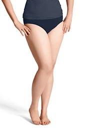 Women's Plus Size Seaside Resort Ultra High Rise Swimsuit Bottom with Tummy Control