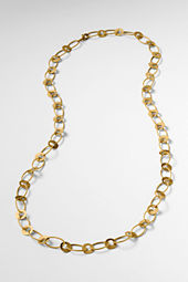 Women's Disc Link Chain Necklace