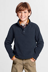 Little Boys' Fleece Snapneck Pullover