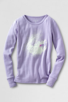Girls' Snug Fit Graphic Sleep Tee