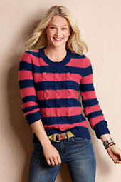 Women's Iconic Striped Crewneck Sweater