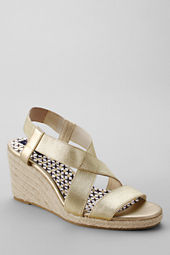 Women's Margot Mid Wedge Elastic Espadrilles