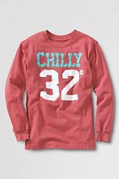 Toddler Boys' Long Sleeve Chilly Graphic T-shirt