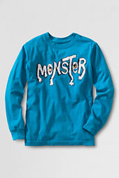 Boys' Long Sleeve Monster Graphic T-shirt