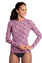 Women's Mini Floral Crewneck Swim Tee Cover-up