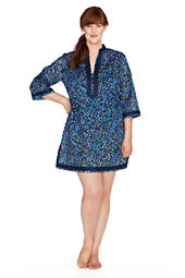 Women's Mosaic Tunic Cover-up