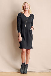 Women's French Terry Flecked Dress