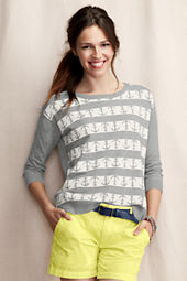 Women's Intarsia Anchor Sweater