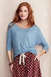 Women's Dolman Open Crewneck